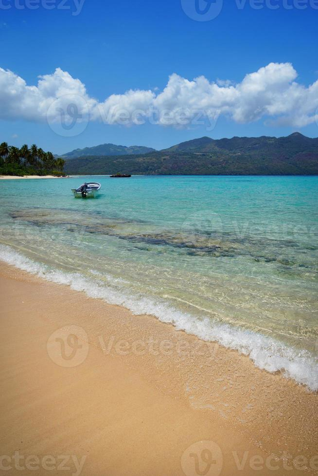 Virgin beach, Samana peninsula, Dominican Republic , playa rincon photo