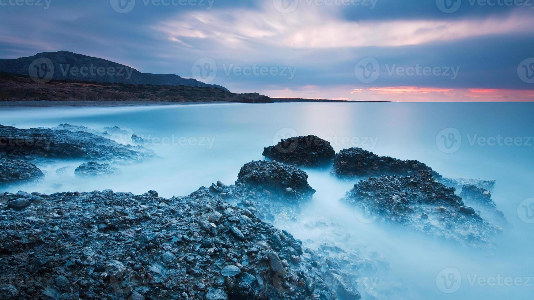 Coast of south eastern Crete, Greece. photo