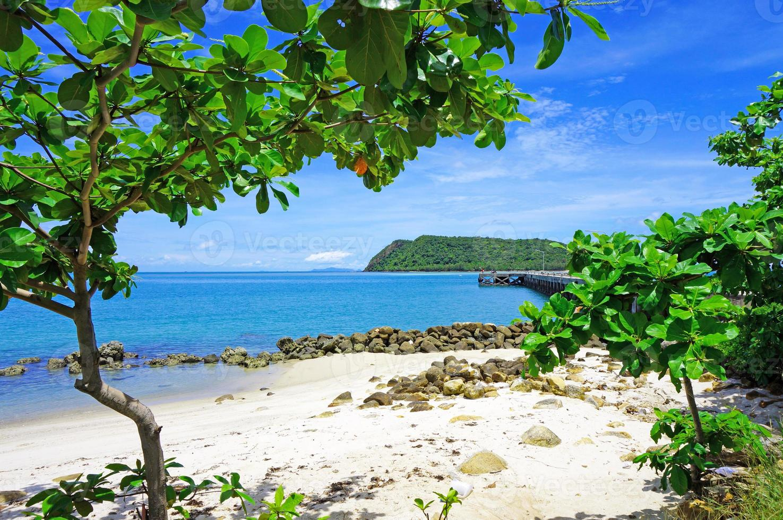 rincón tranquilo en la playa de Koh Phangan foto