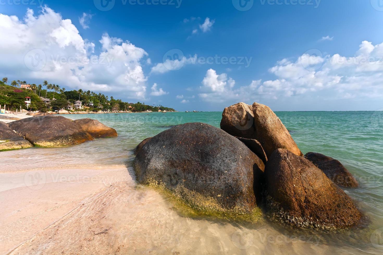 costa, piedras, mar, playa foto