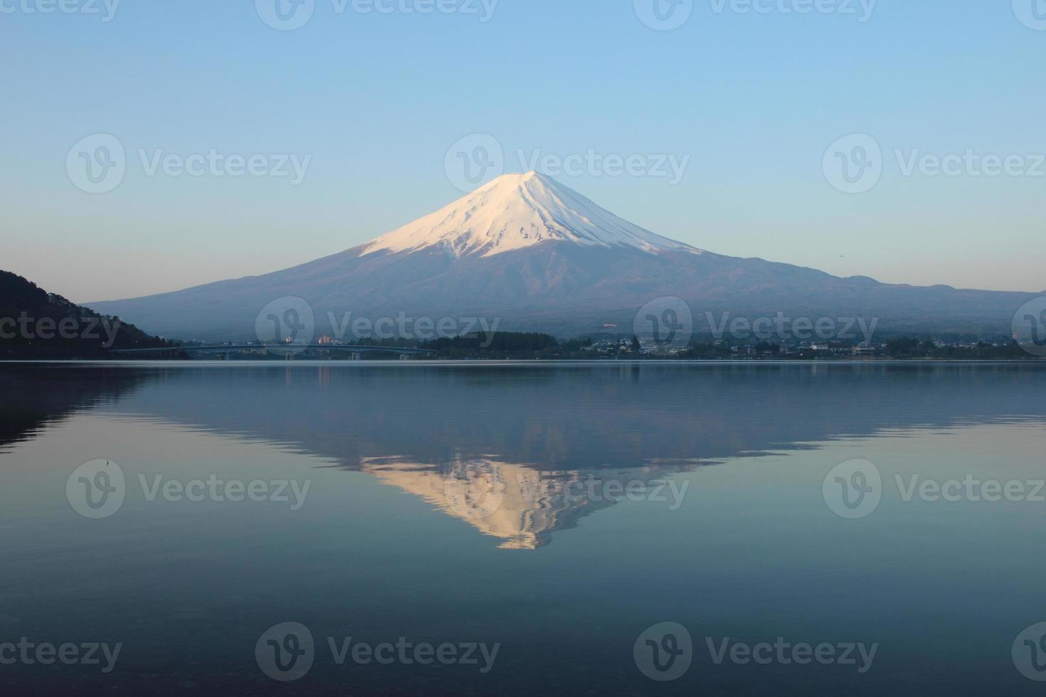 Mt.Fuji at Lake Kawaguchi photo