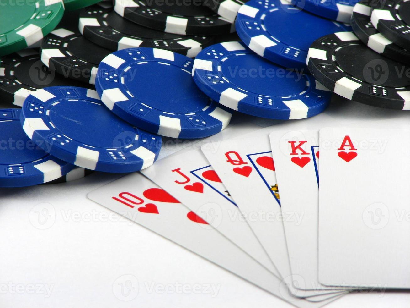 Cards- Royal flush photo