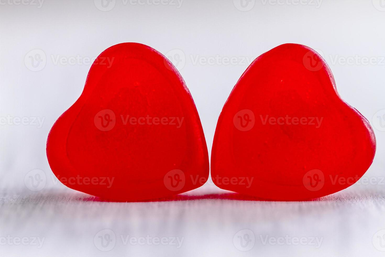 Valentines Day Heart Candy and Cookies photo