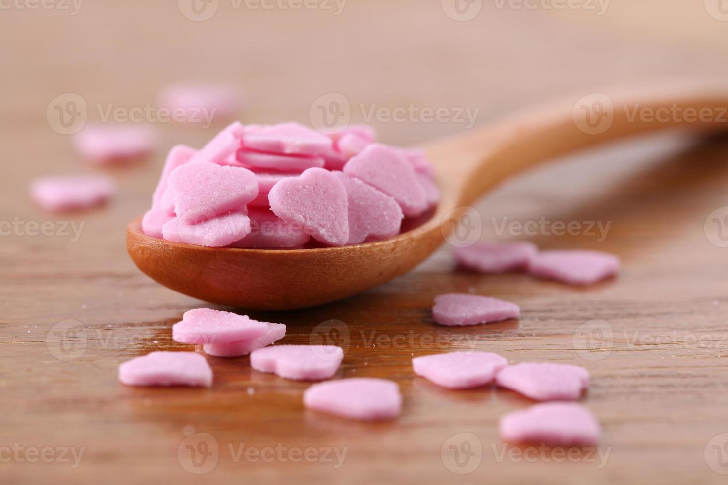 Sugar hearts photo