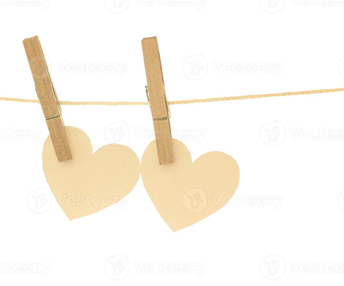 hanging heart photo