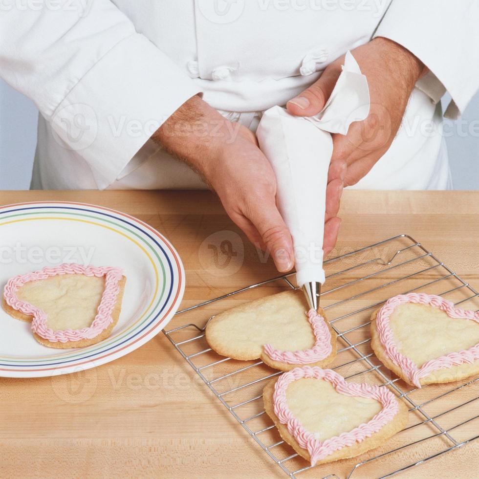 Heart cookies photo