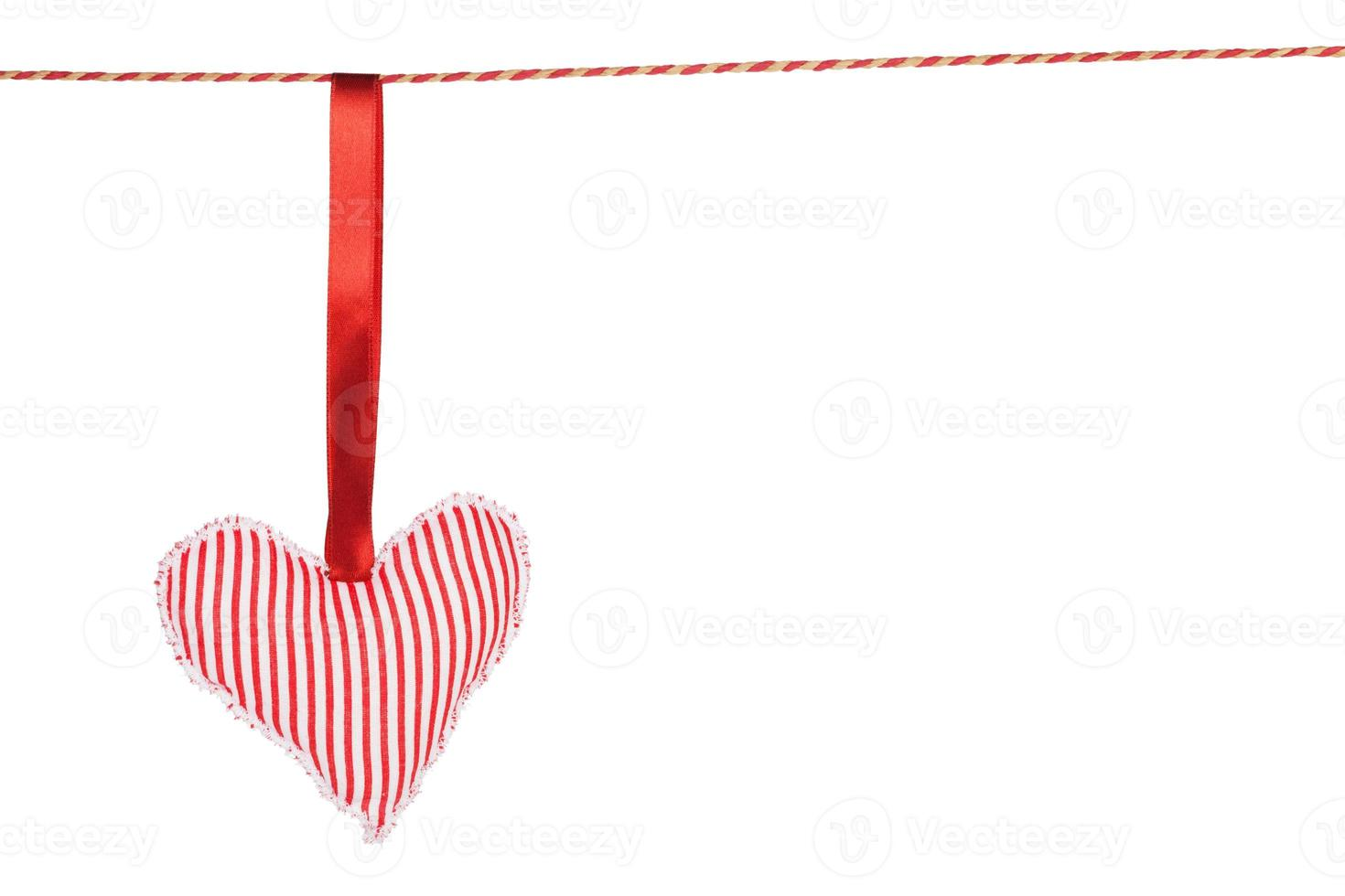 Heart shaped toy hanging photo