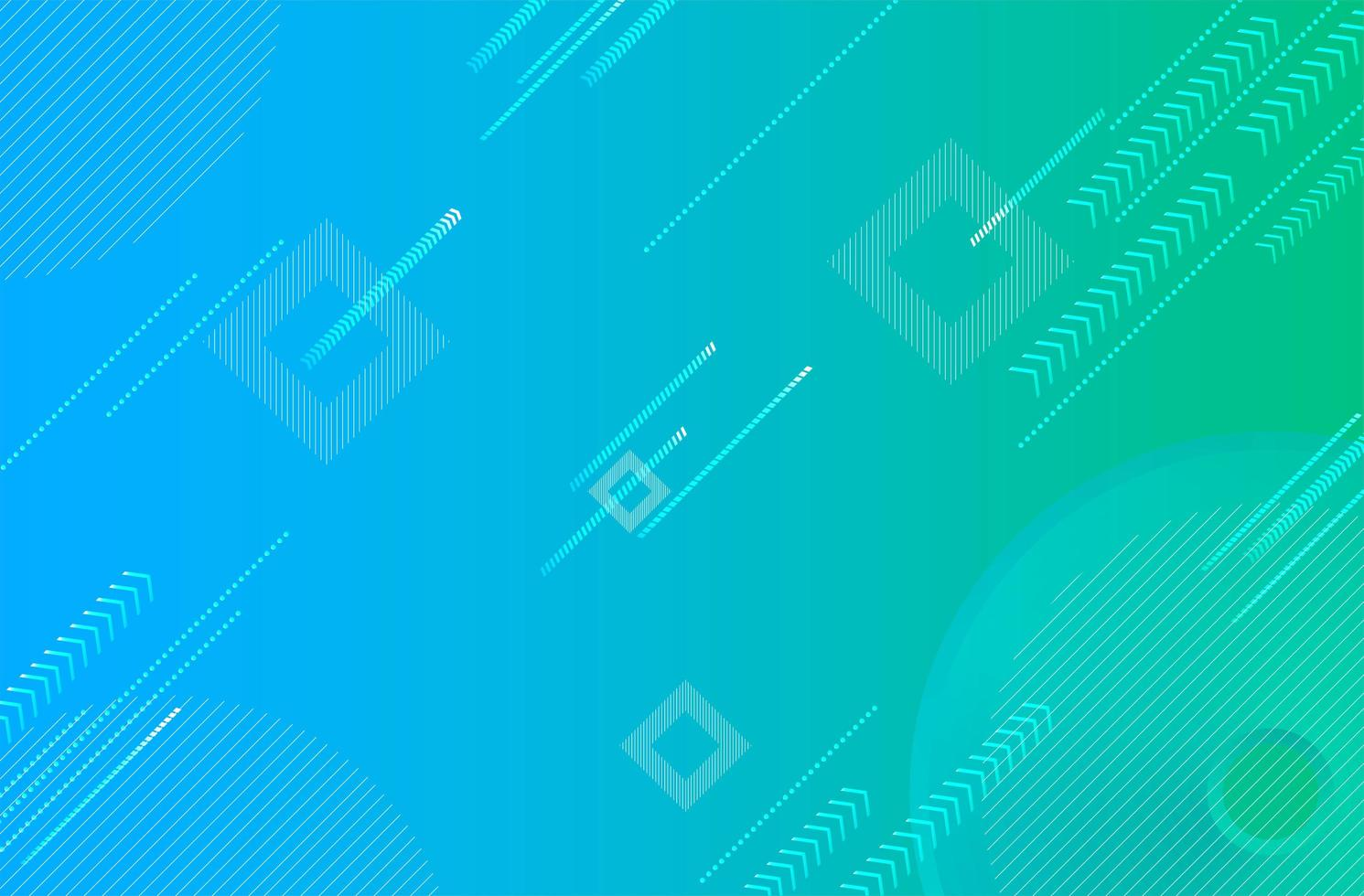 abstracte blauwgroene gradiënt digitale achtergrond vector