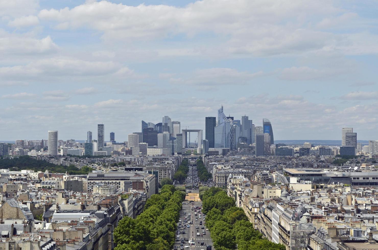 Skyline of Paris photo