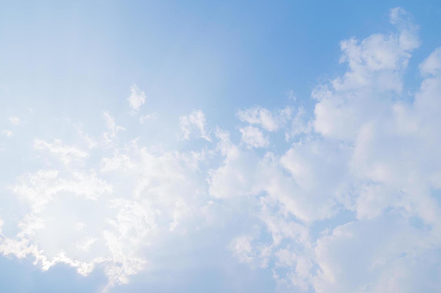 nuages et ciel pendant la journée photo