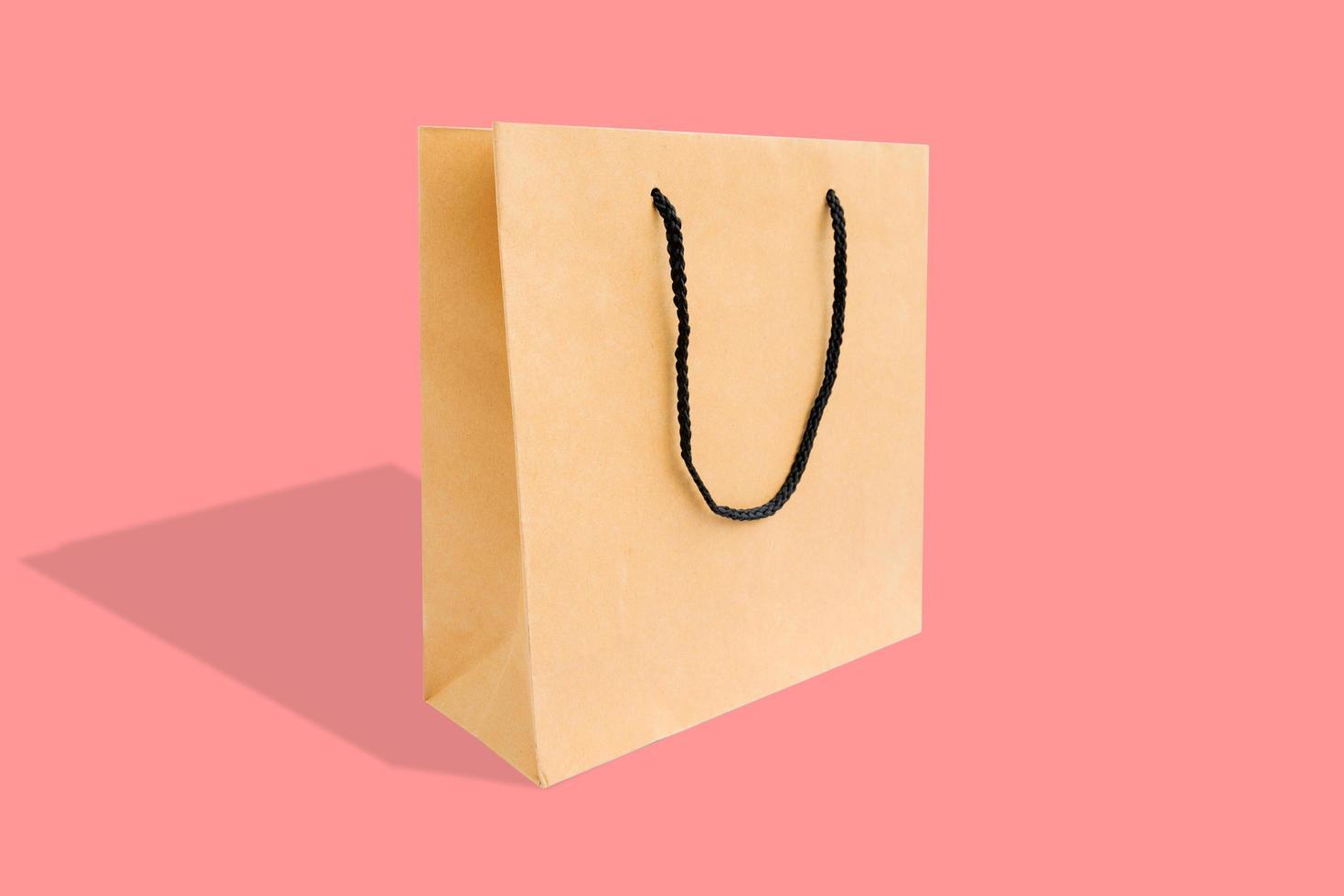 shopping bag di carta foto
