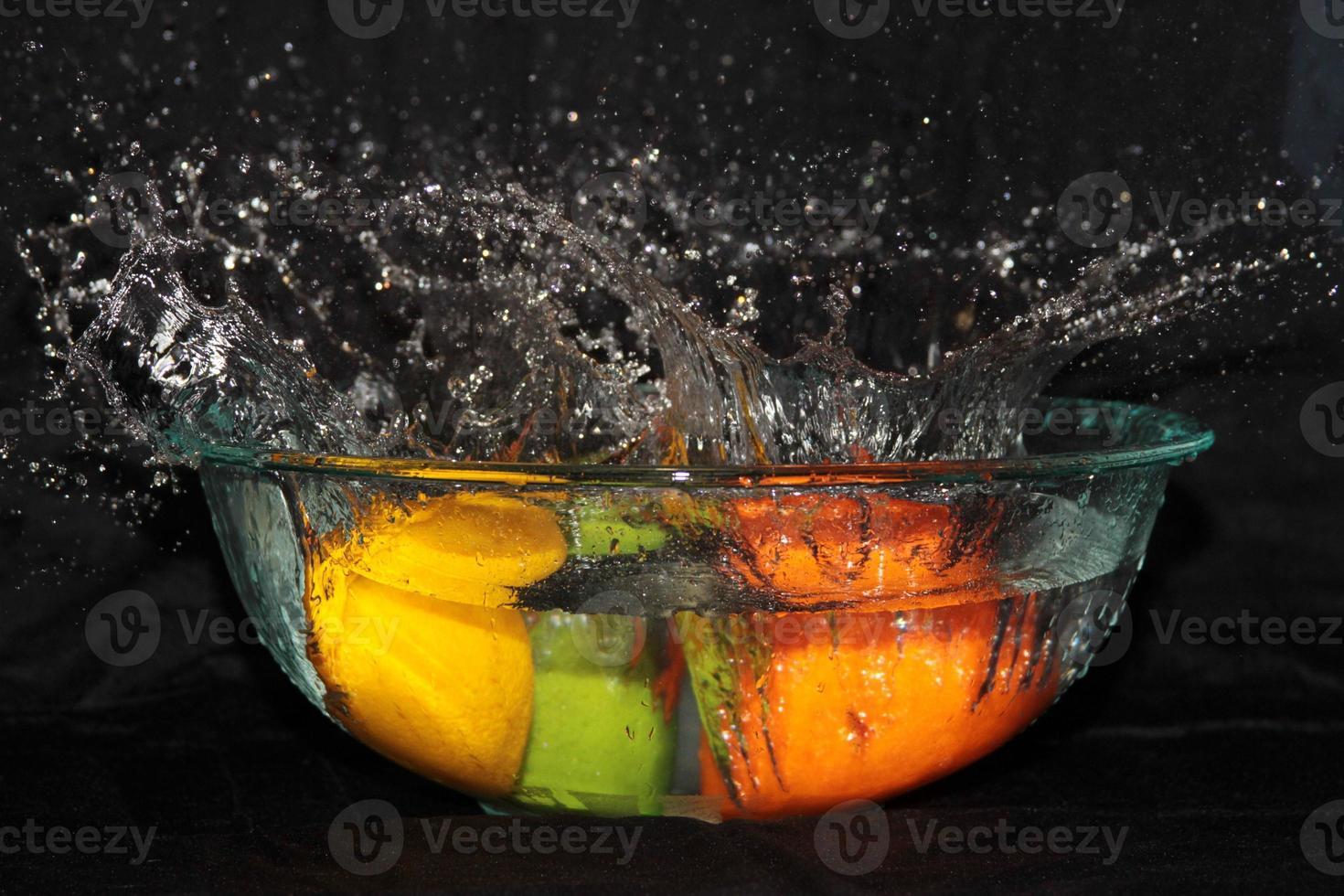 fruitig water. foto