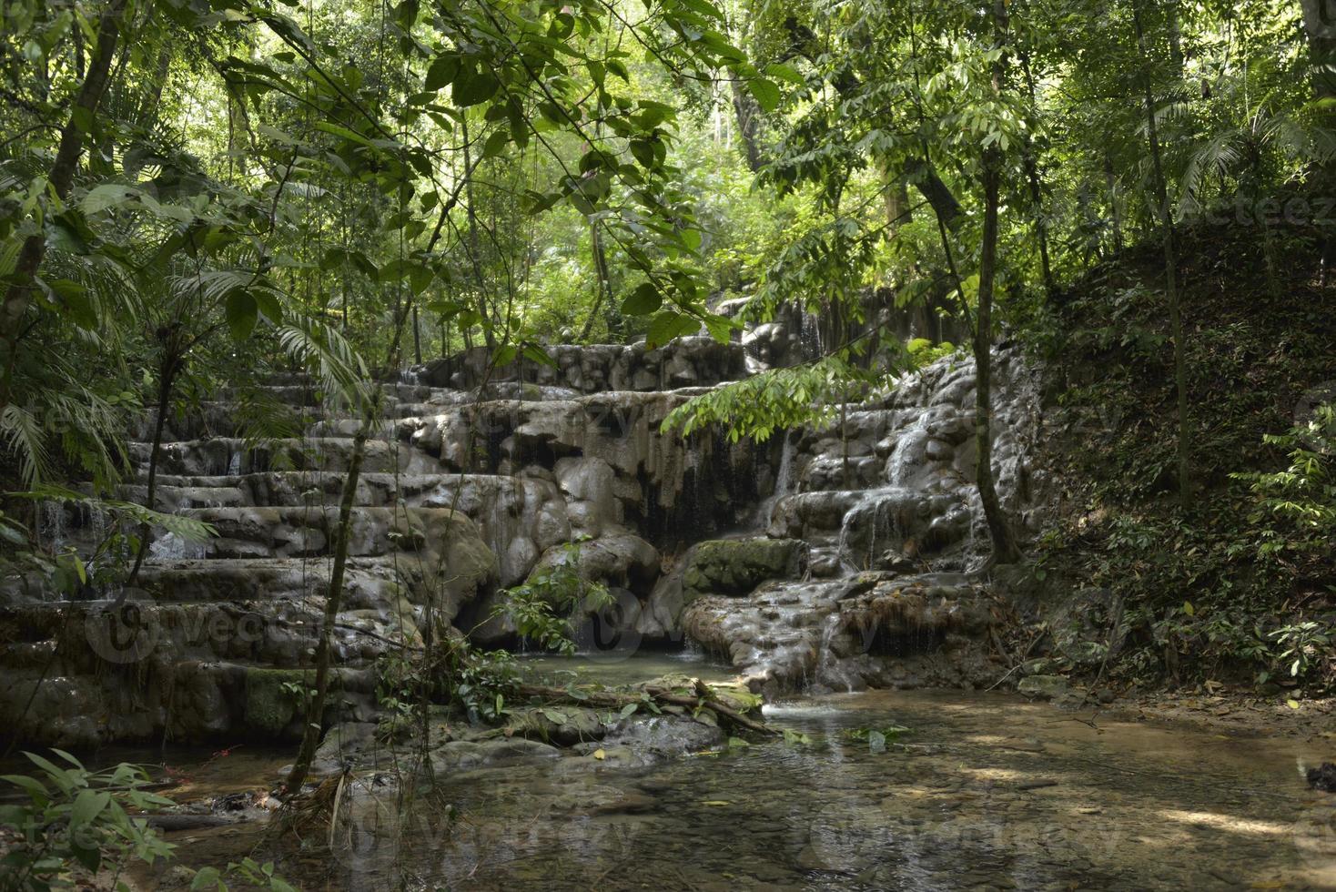 Palenque watervallen foto