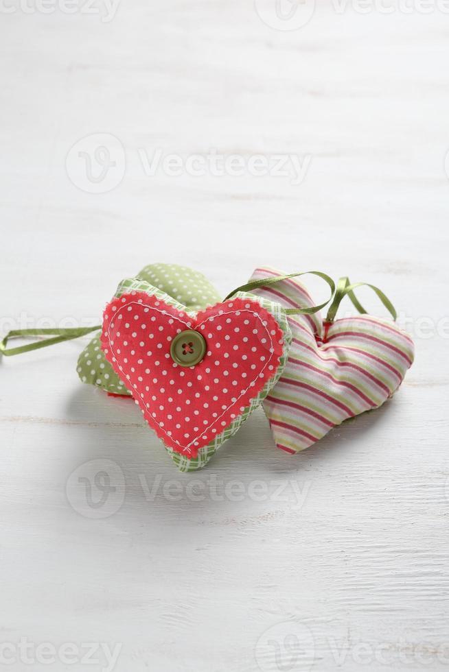 cuori decorativi il giorno di San Valentino foto