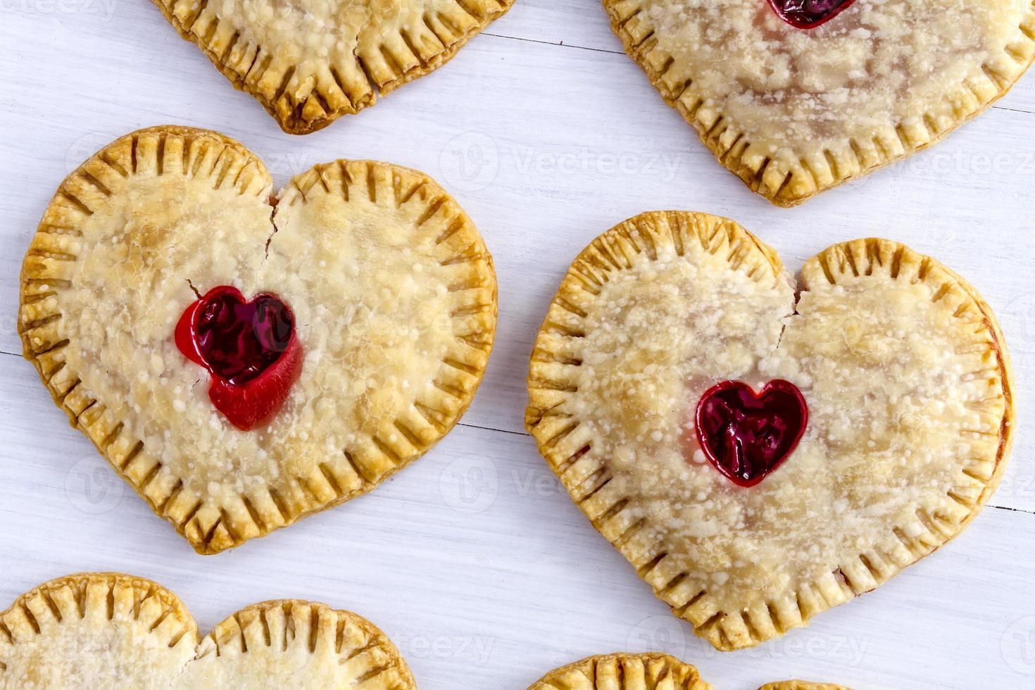 Heart Shaped Cherry Hand Pies photo