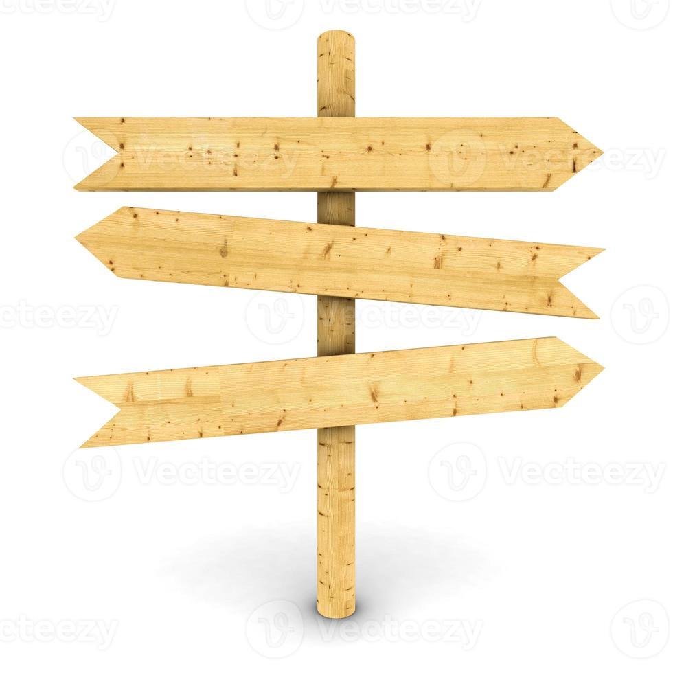 wooden arrows photo