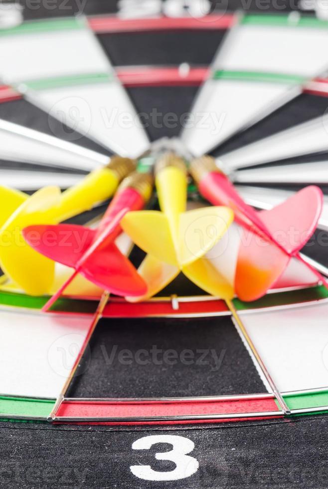 dartboard in close up photo