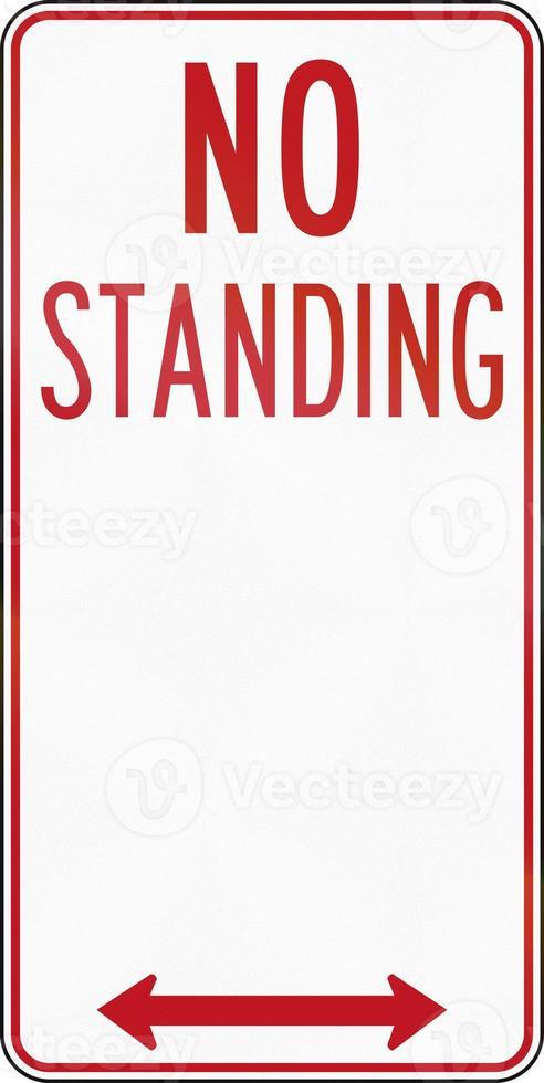 No Standing In Australia photo