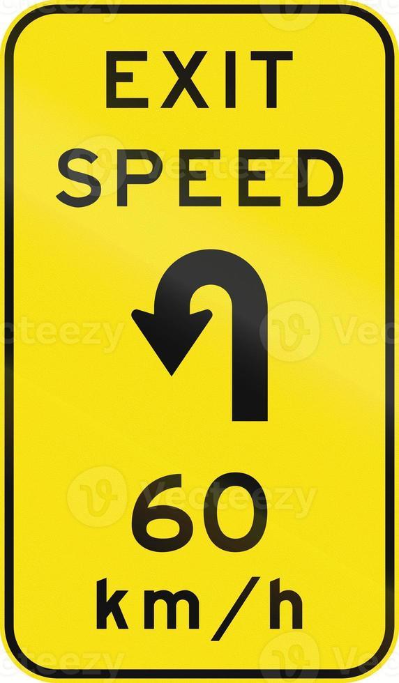 Advisory Exit Speed in Australia photo