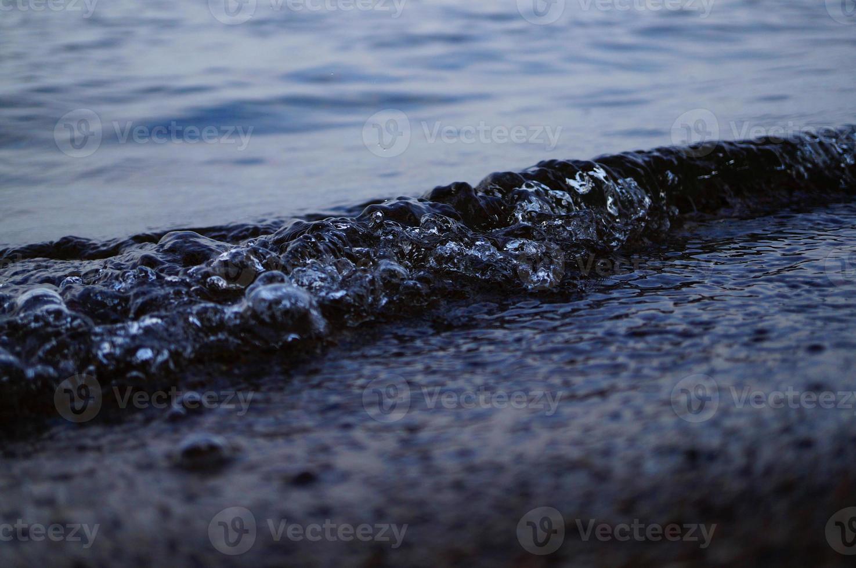 ola de agua foto