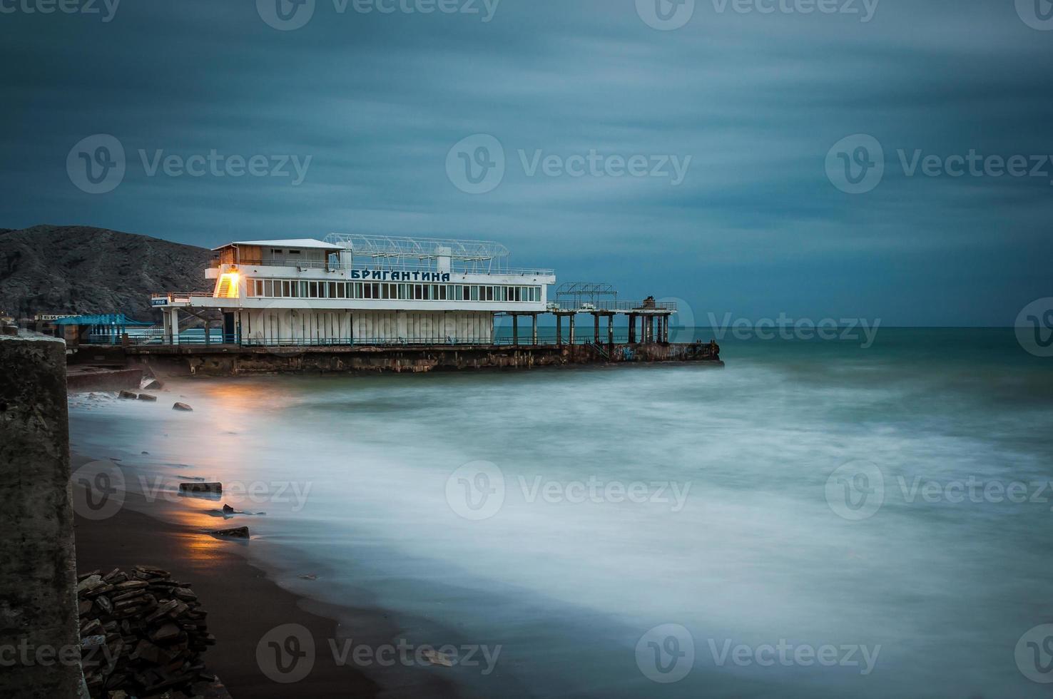 tormenta de mar foto
