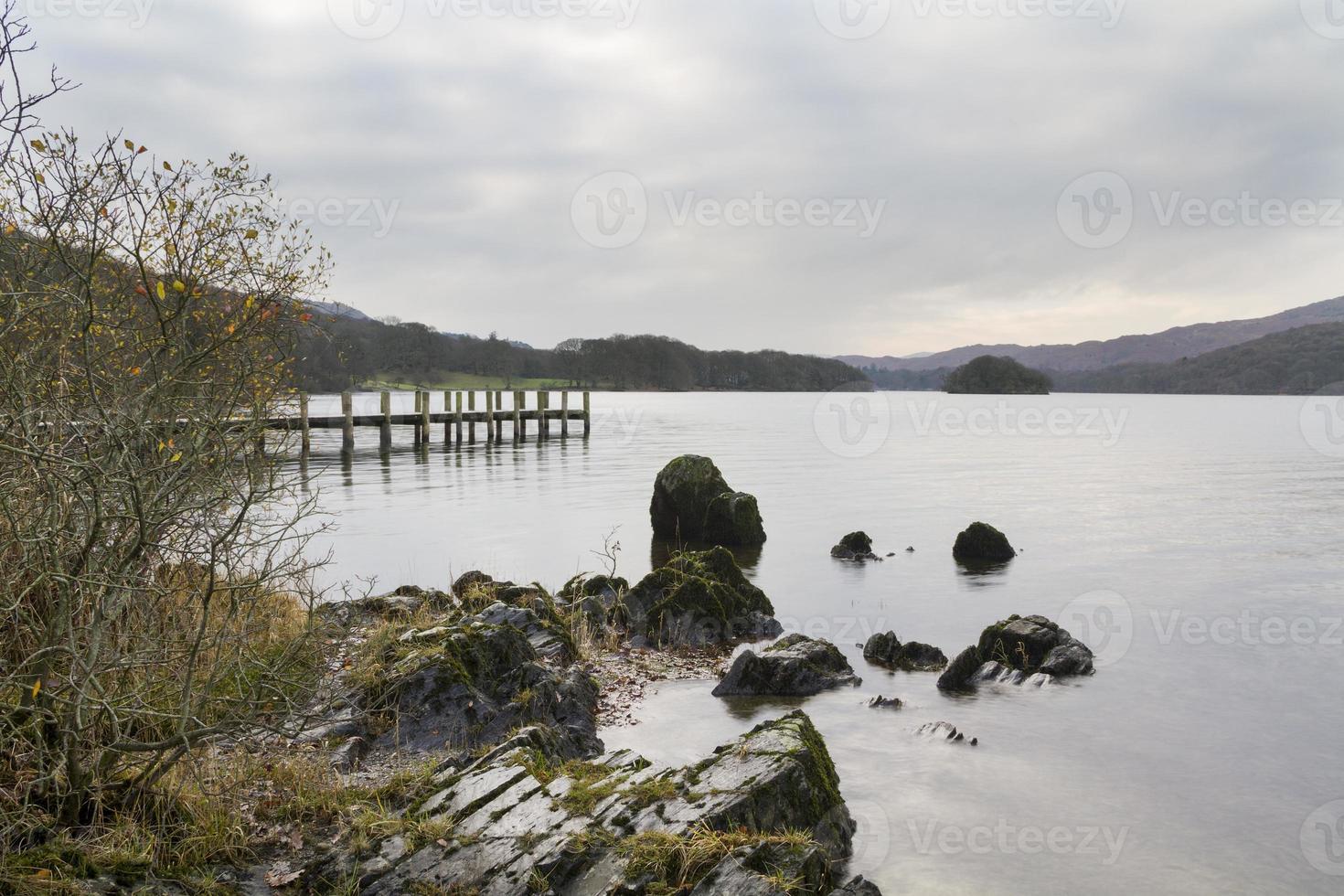 coniston water Lake district cumbria photo