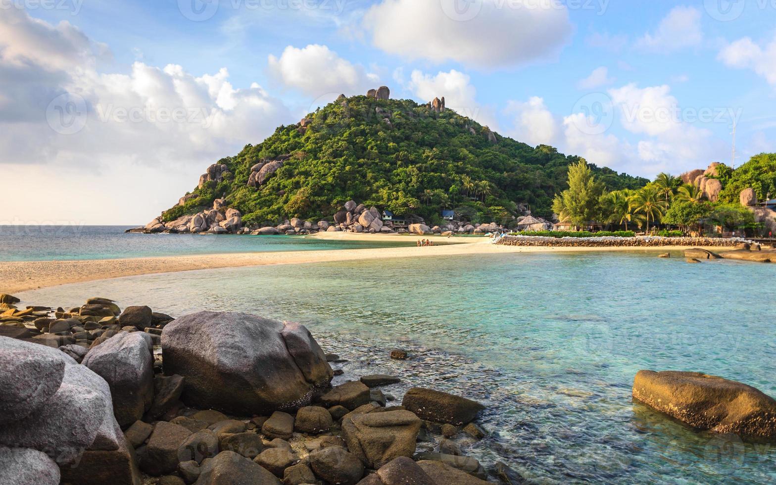 Beautiful Sea at Tropical Island photo