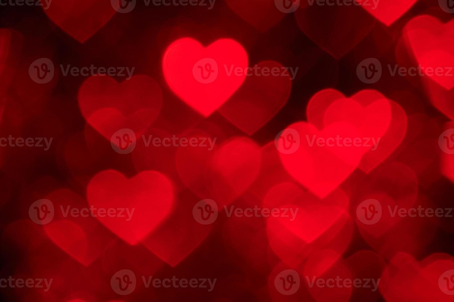 Fondo de foto de vacaciones en forma de corazón rojo