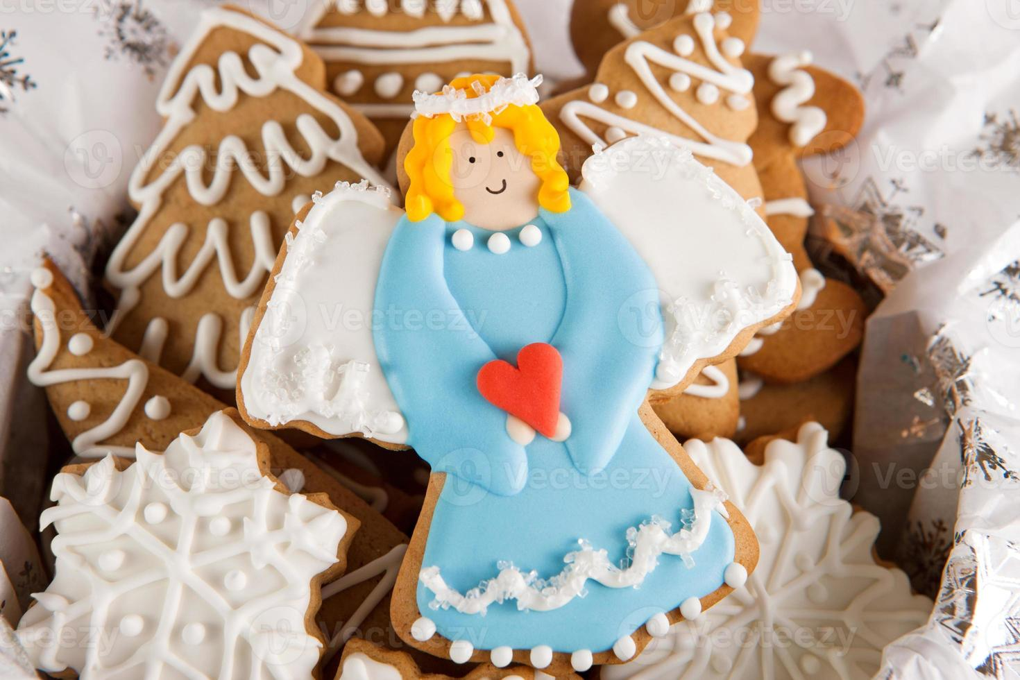 Angel cookie photo