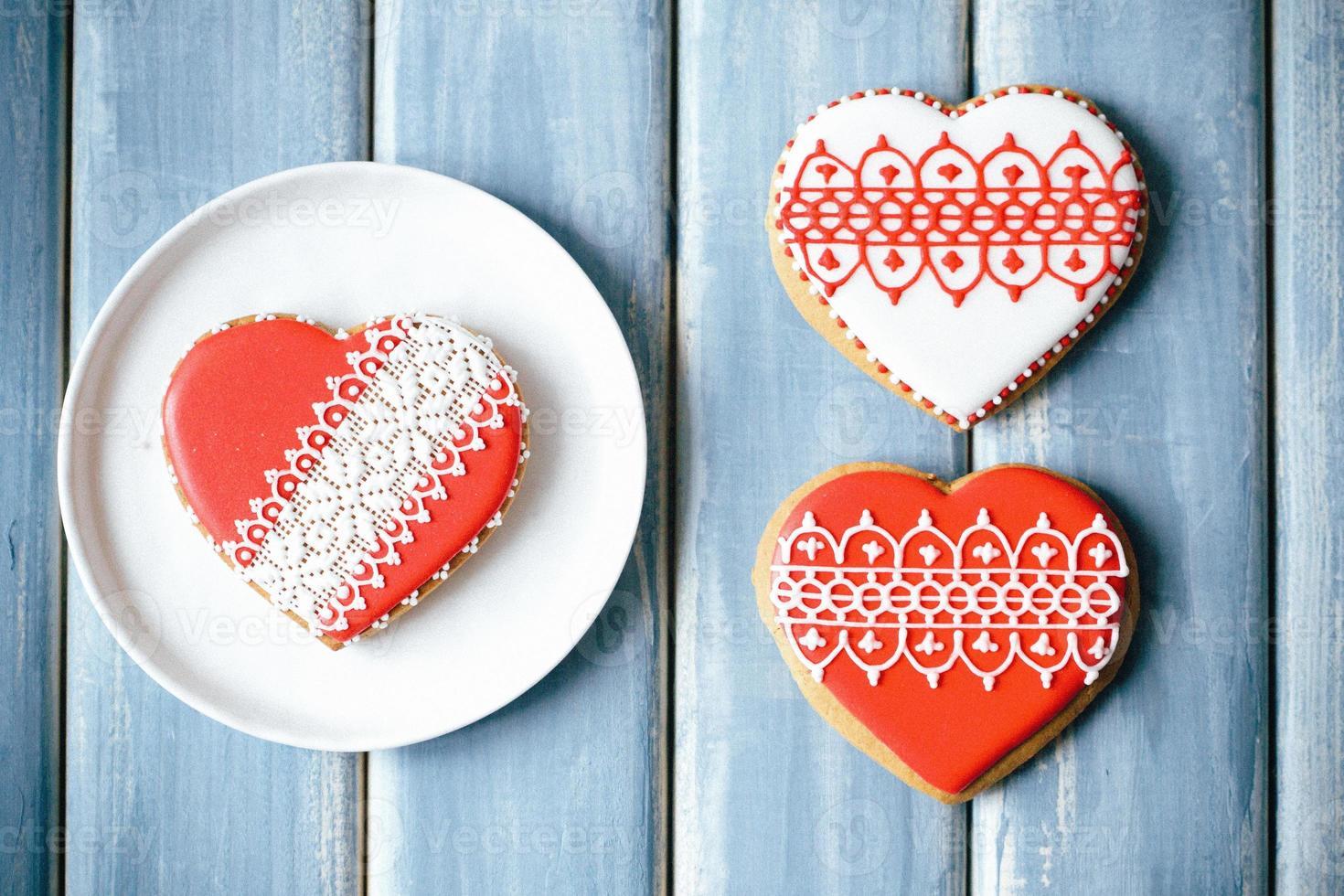 galletas de san valentín foto