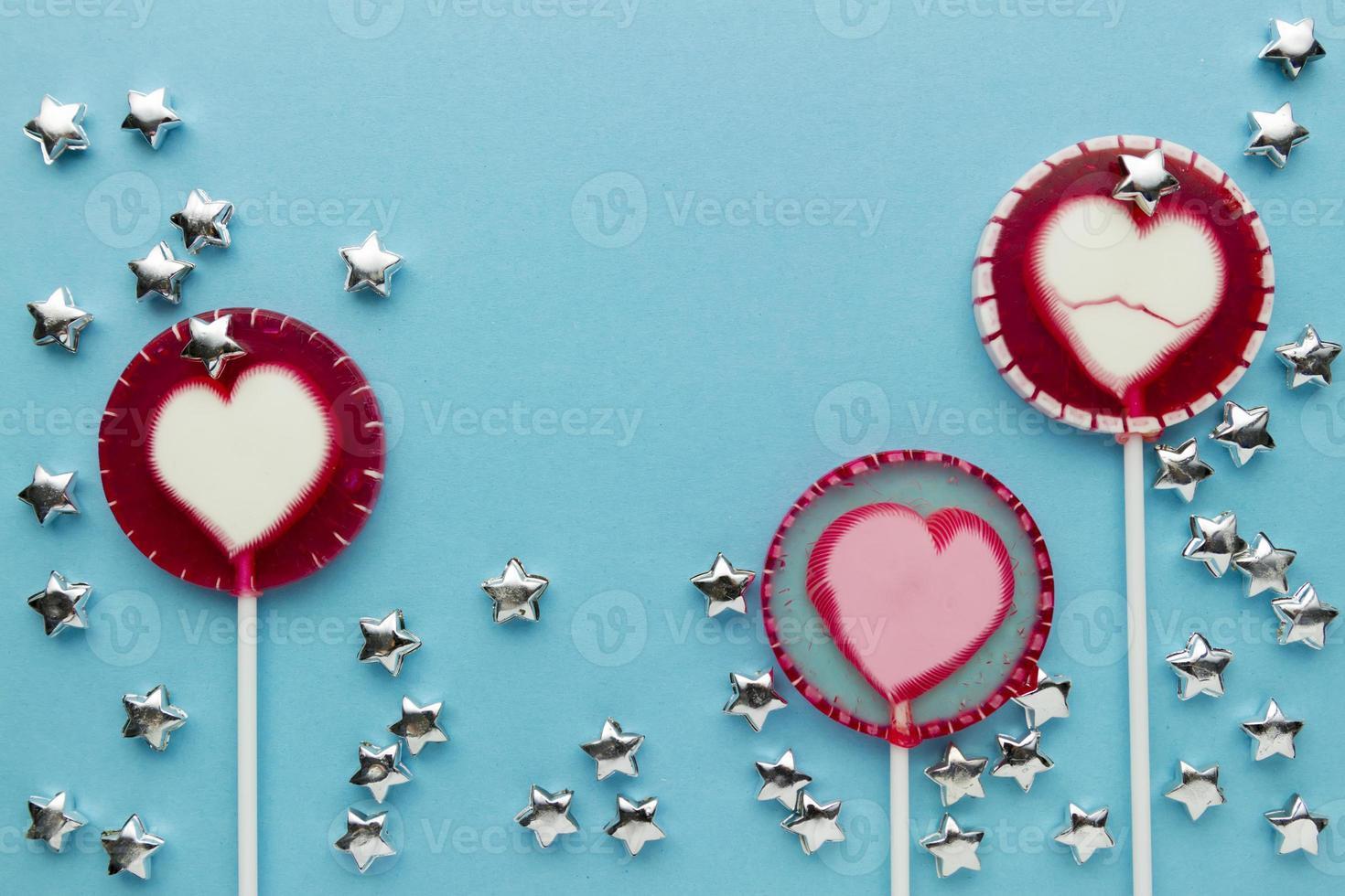 lollipop on paper photo