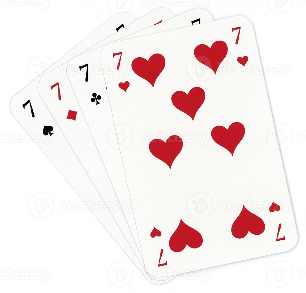 Poker of seven photo