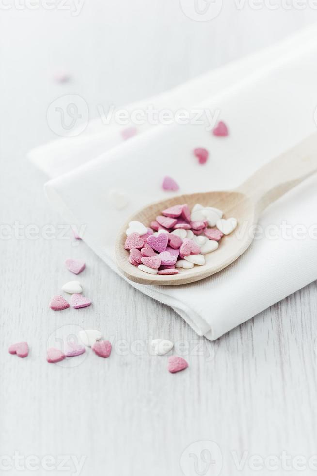 decoraciones de la torta de San Valentín foto