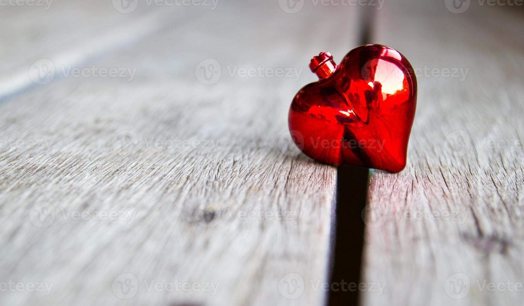 Fondo del día de San Valentín con corazón. foto