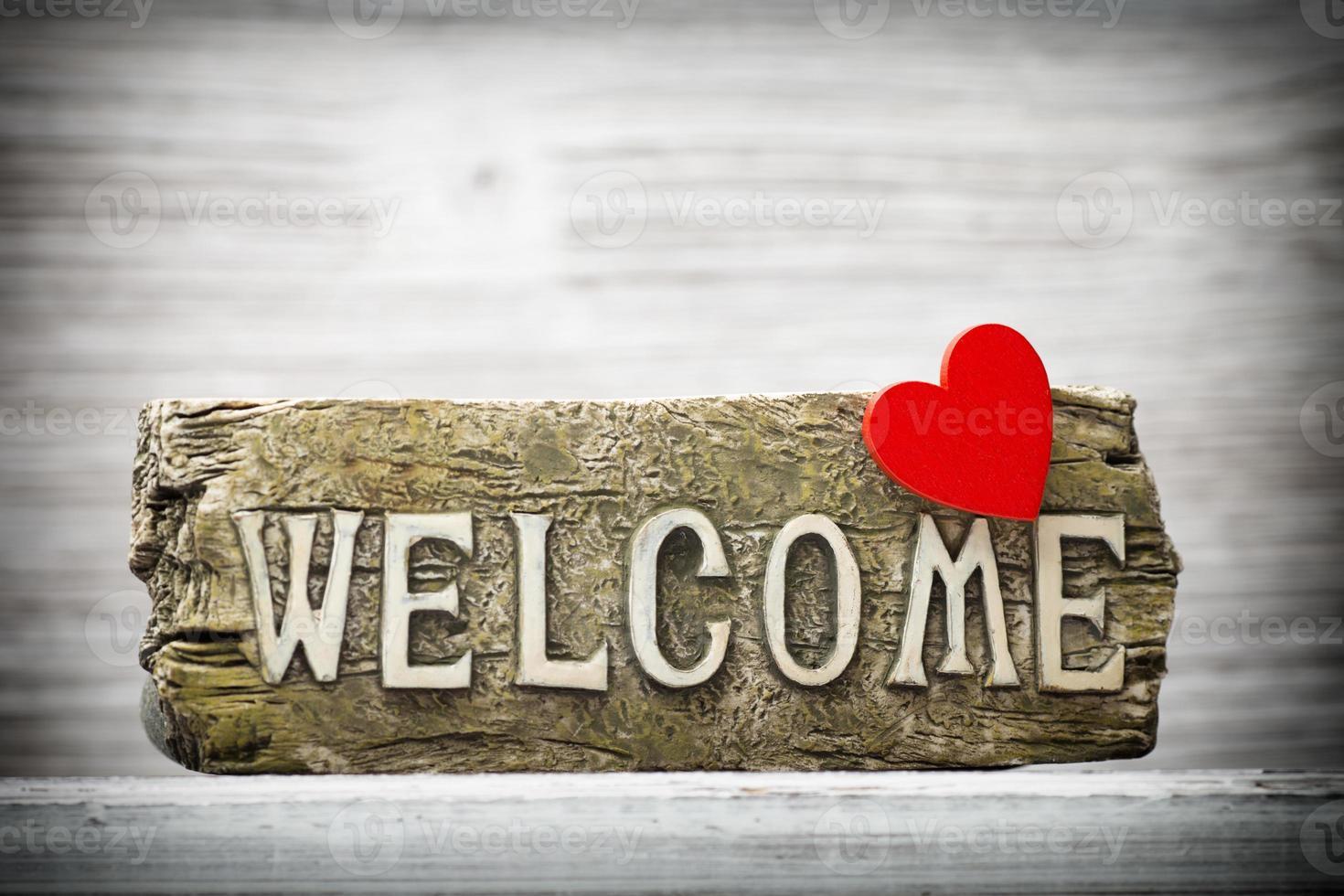 Bienvenido. foto