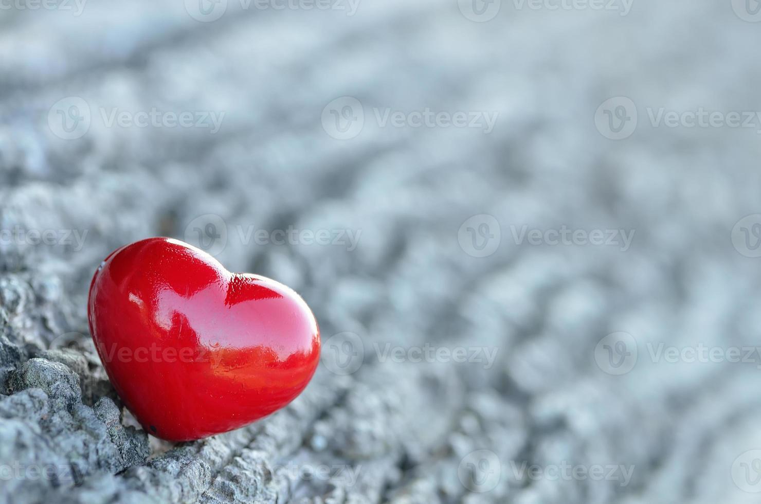 Fondo del día de San Valentín con corazones foto