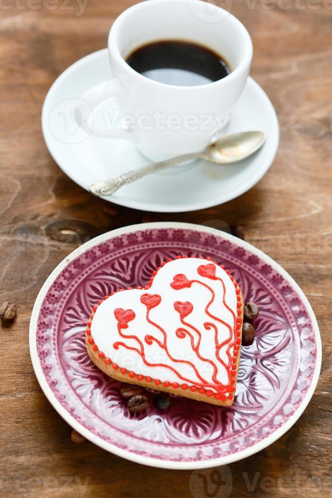galleta para el dia de san valentin foto