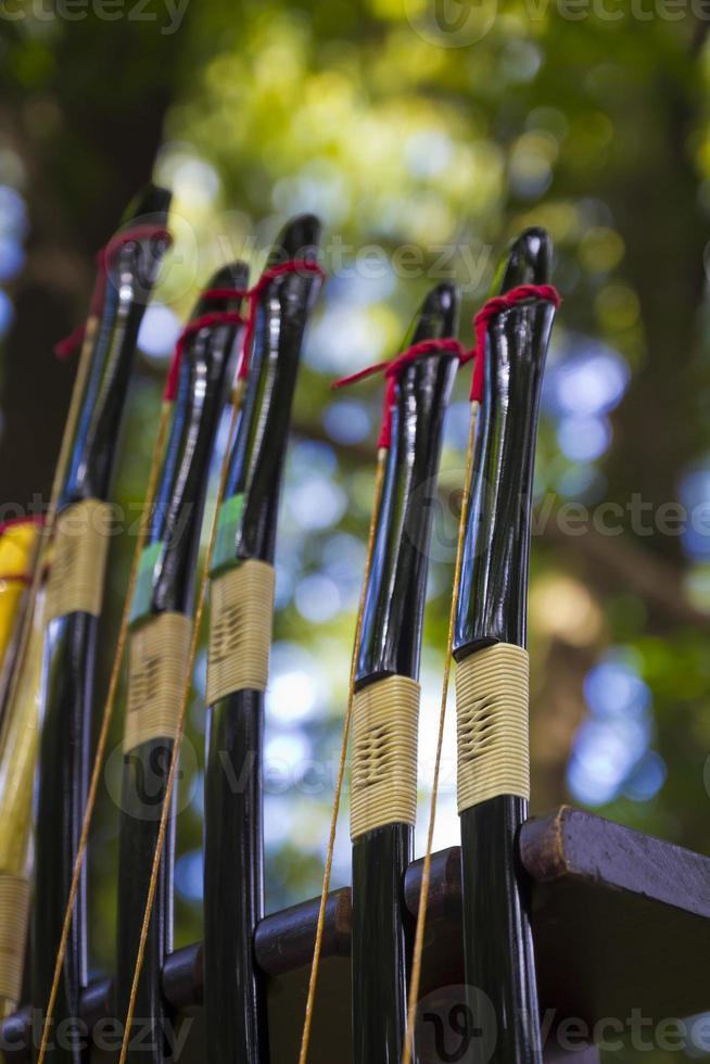 Japanese bow arrow photo