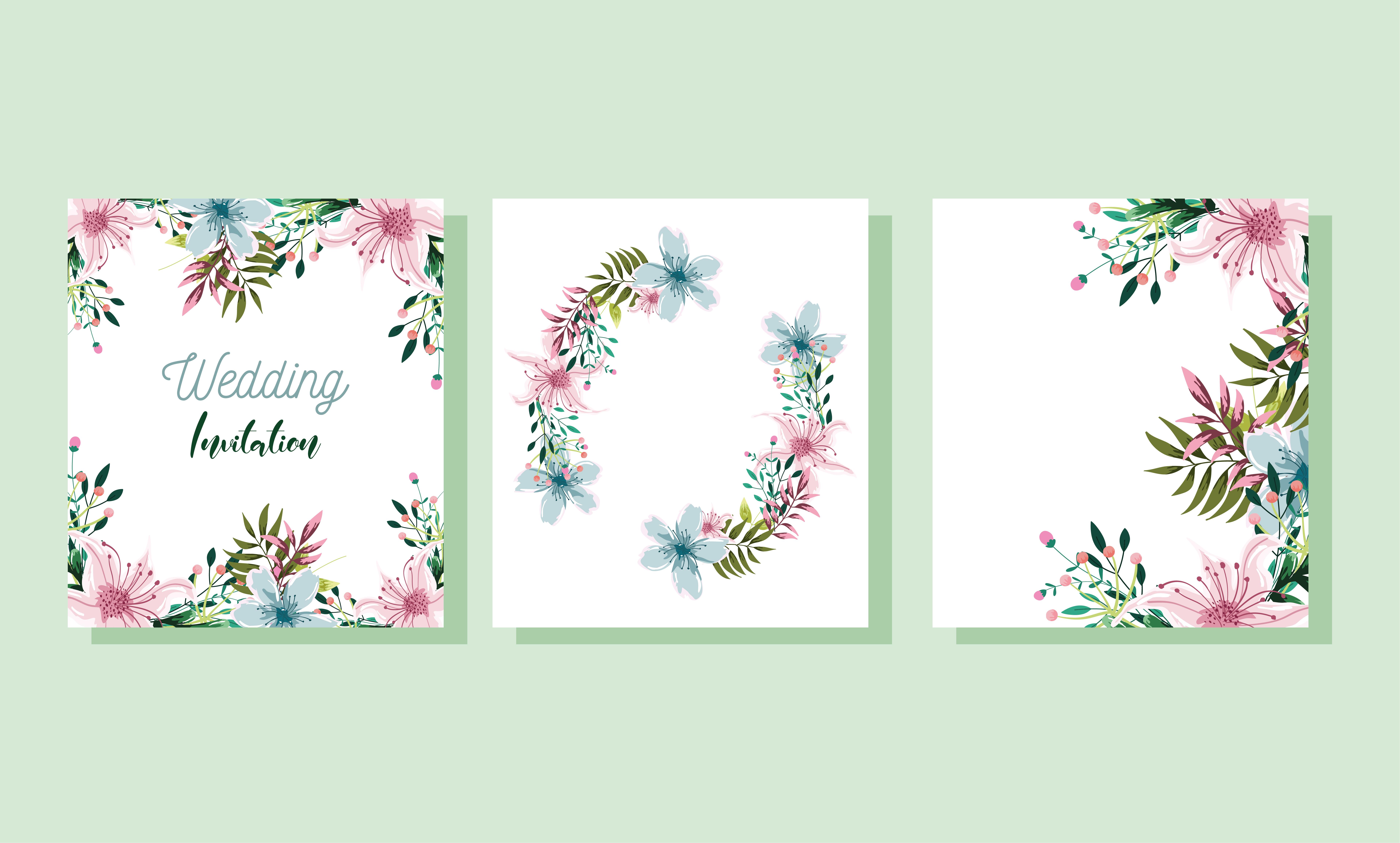 19+ Watercolor Floral Set SVG