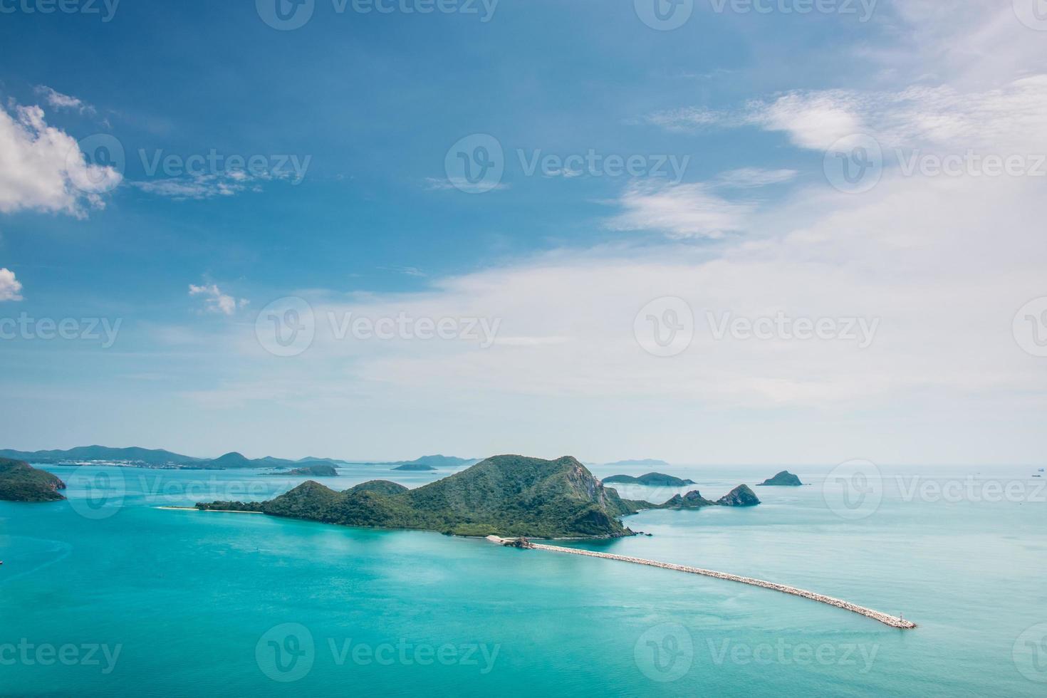 Mar hermoso. Golfo de Tailandia, foto