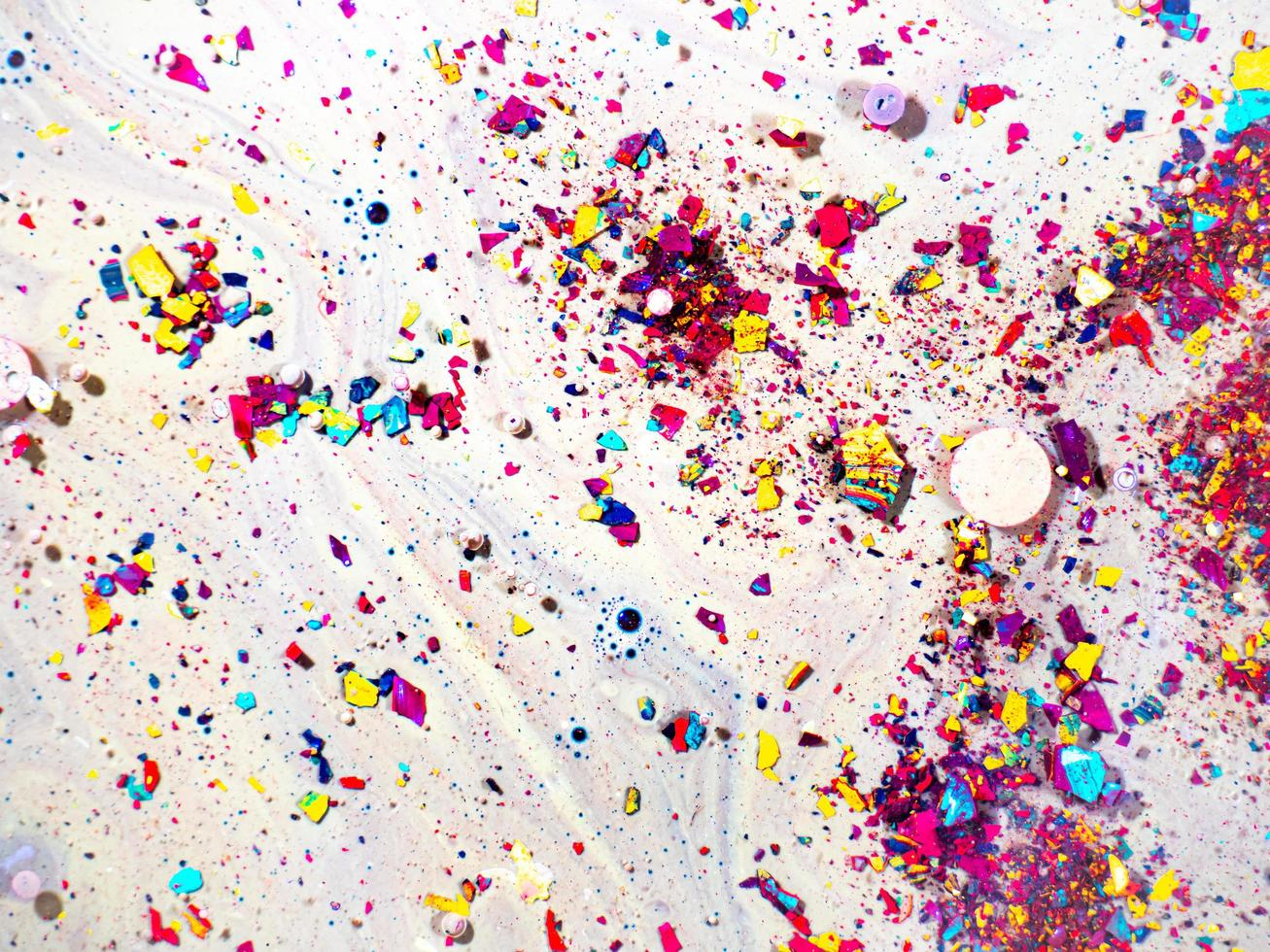 Candy mosaic texture photo