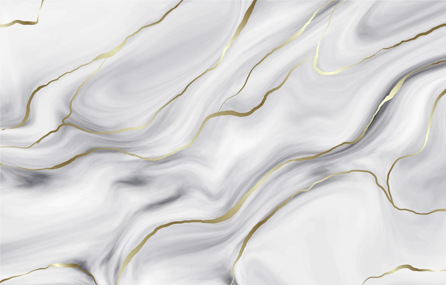 Milky White Abstract Background with Dark Gold Lines vector