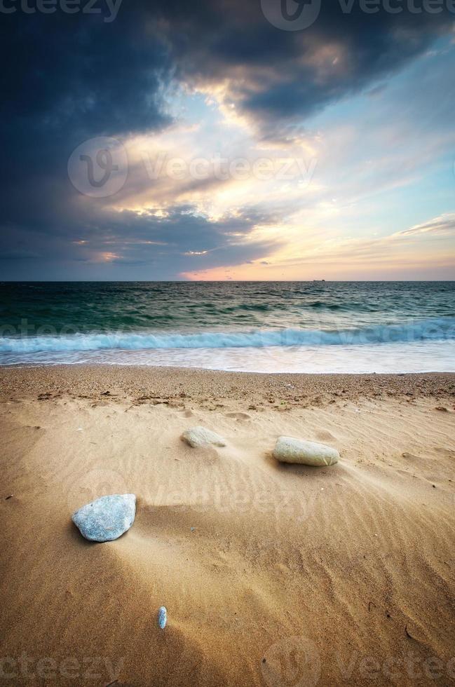 Beautiful seascape photo