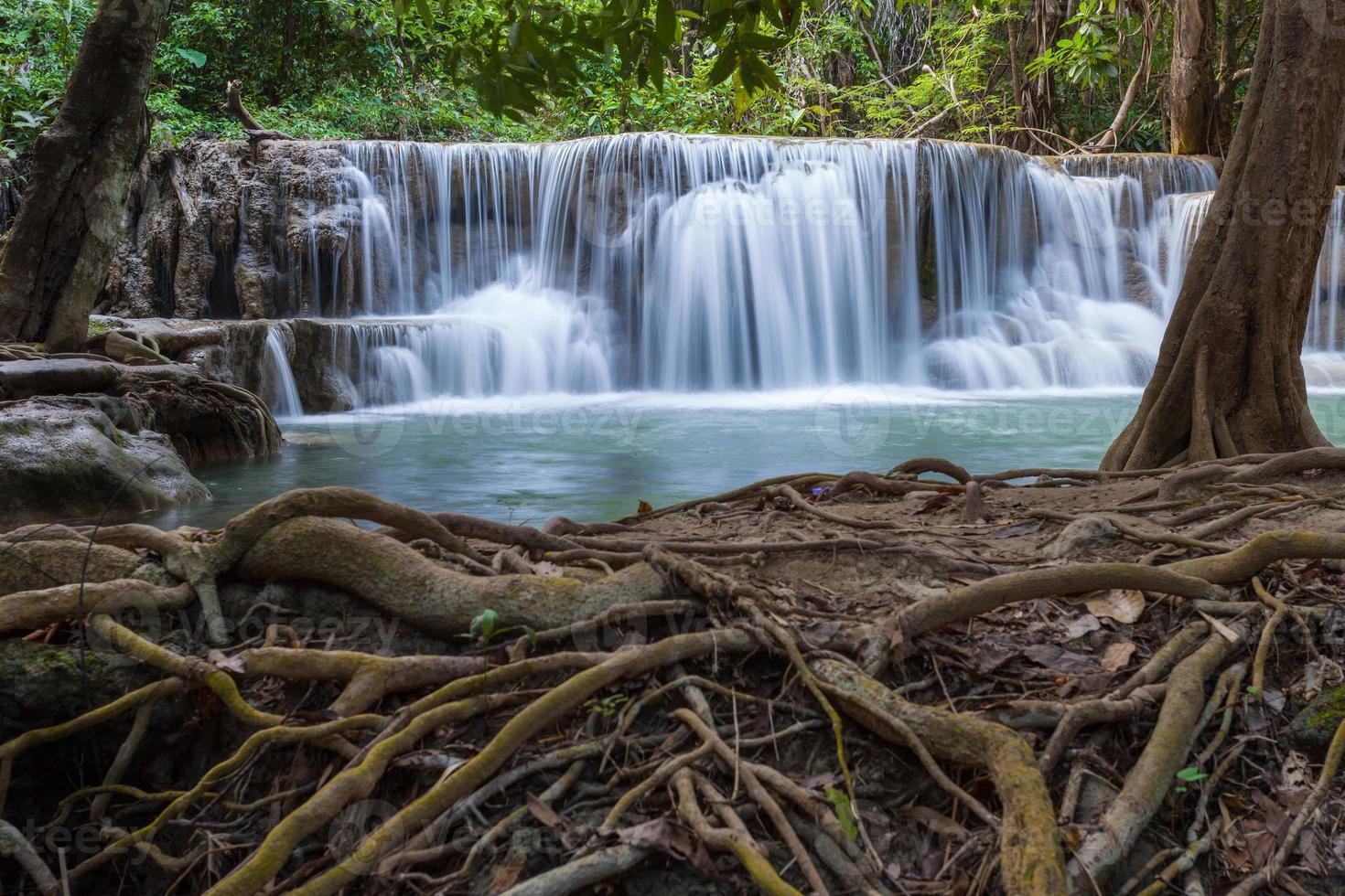 huay mae kamin waterfall photo