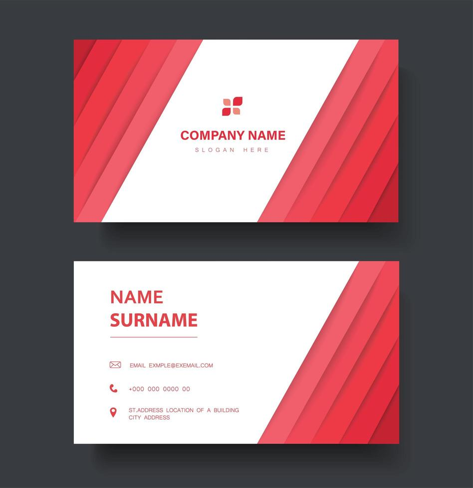 Company Line Card Template from static.vecteezy.com
