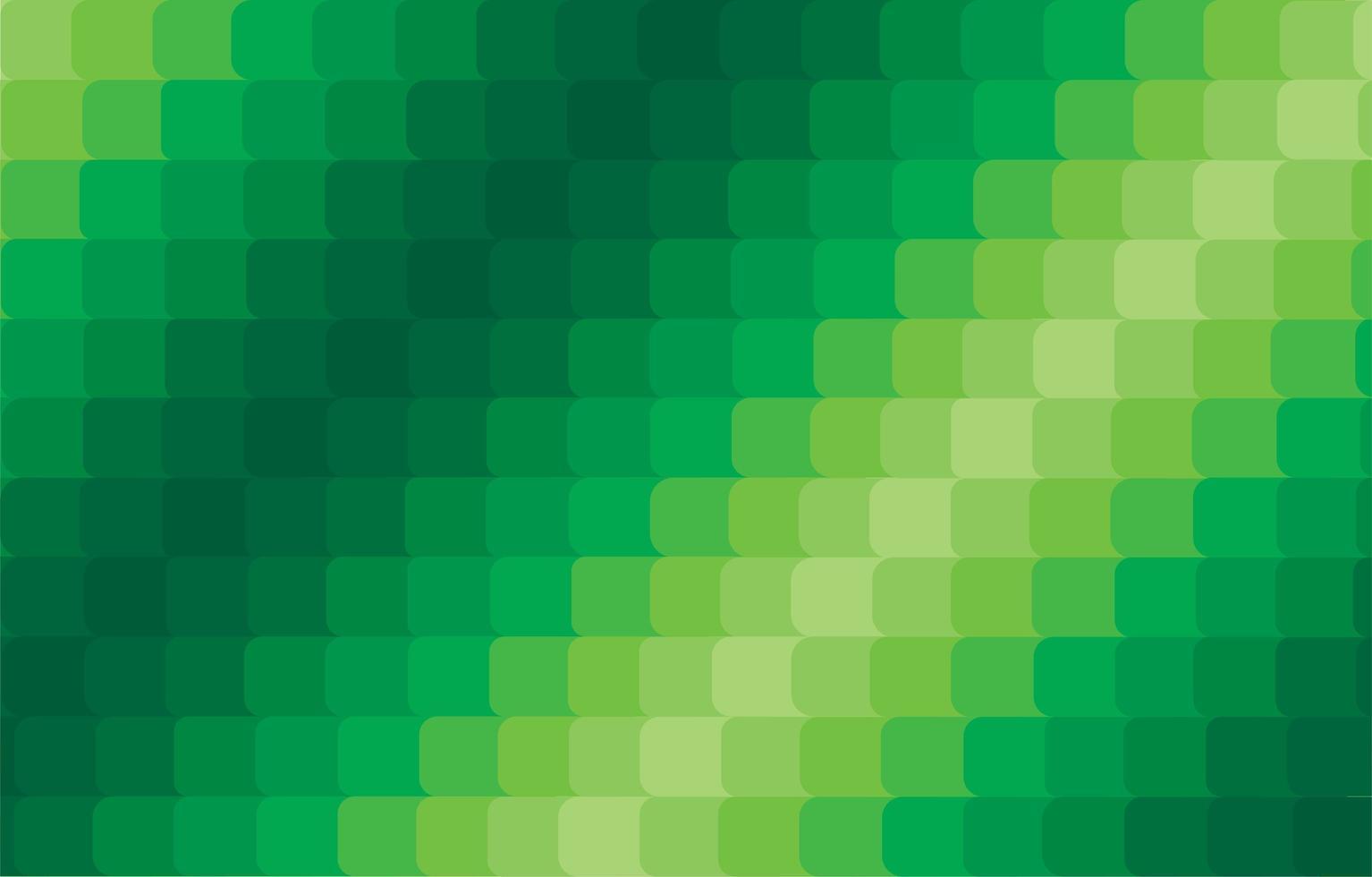 Fondo degradado cuadrado verde moderno abstracto vector
