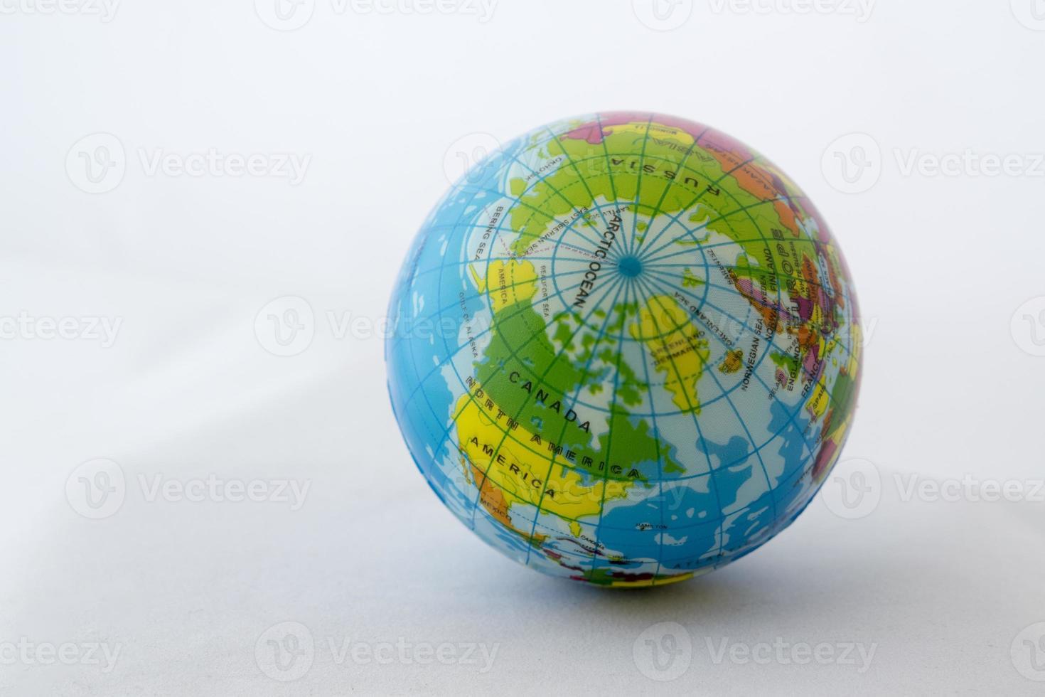Globe, Northern hemisphere photo