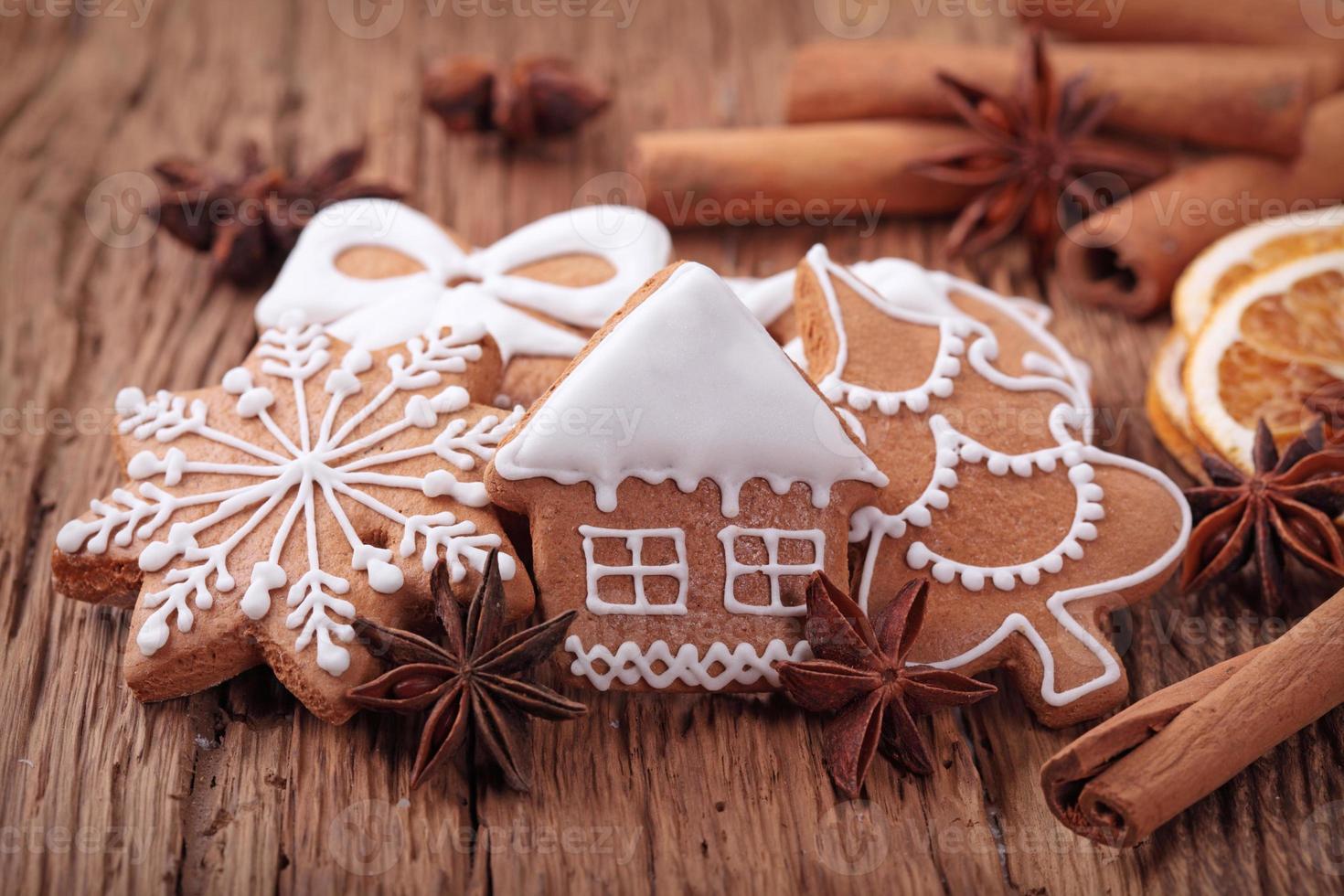 galletas de jengibre foto