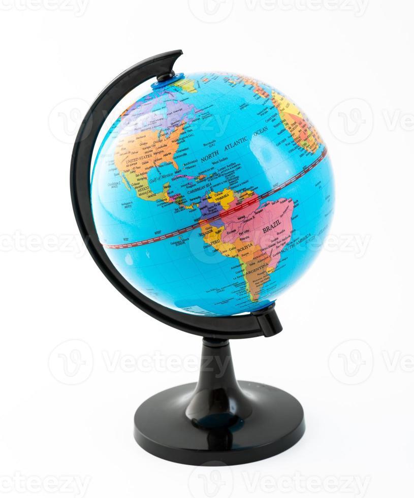 The Globe. Representation of Planet Earth photo