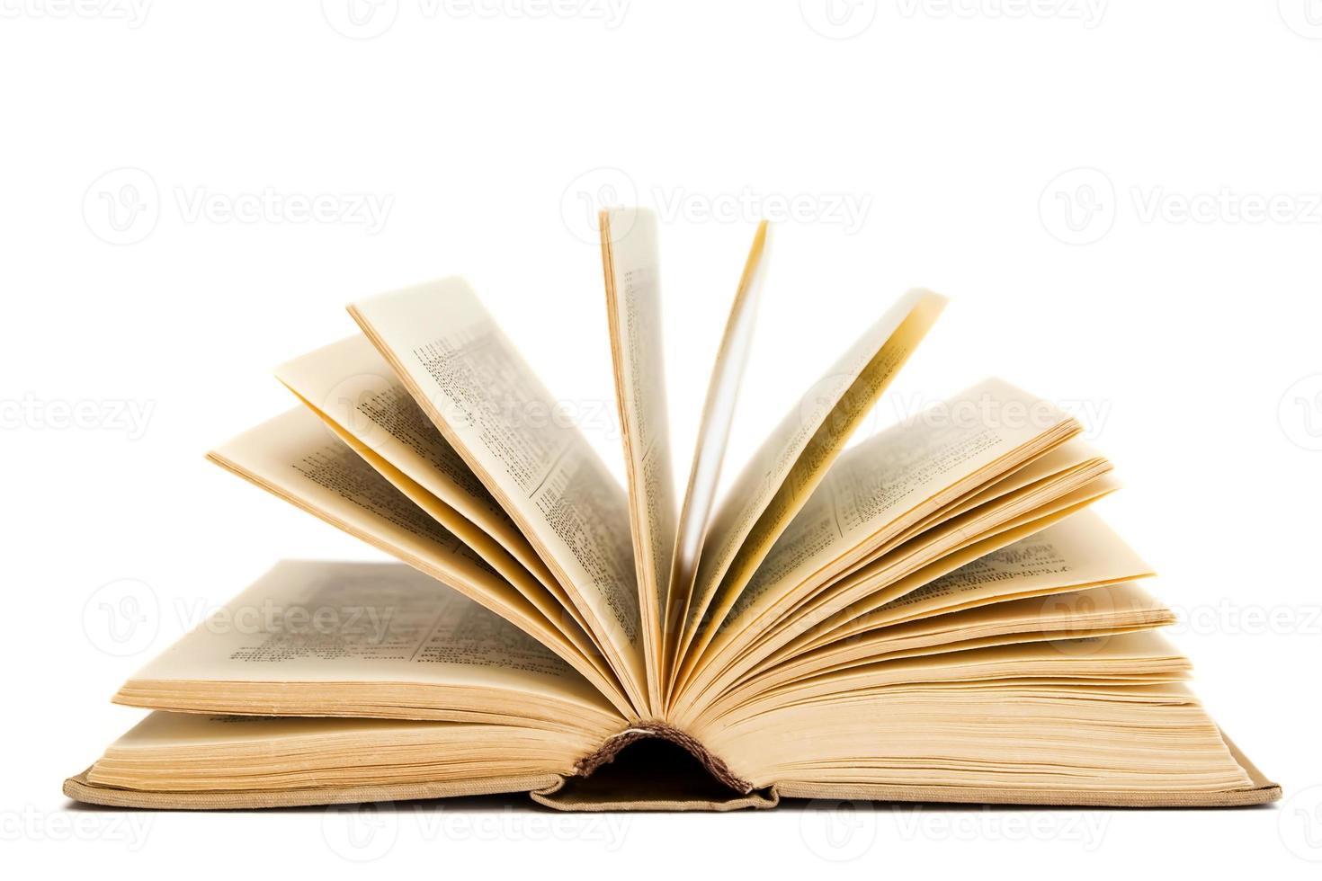 open book photo